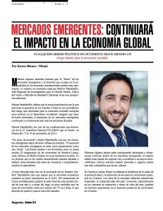 MERCADOS EMERGENTES-