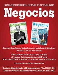 NEGOCIOS MAGAZINE LA ÚNICA REVISTA EMPRESARIAL EN ESPAÑOL EN ESTADOS UNIDOS