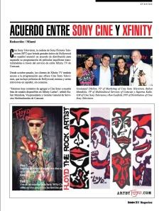 SONY CINE Y XFINITY