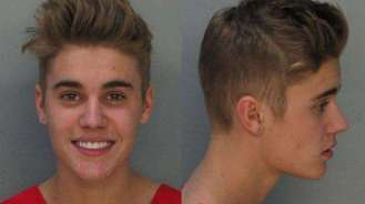 Justin Bieber. Arrestado en Miami por conducir con exceso de velocidad y bajo la influencia de alcohol, marihuana y pastillas.