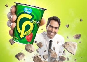 """Alpina promocionó un lácteo """"Regeneris"""" como yogurth con propiedades especiales."""
