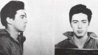 Al Pacino. Tenía 21 años cuando lo detuvieron por portar armas ilegalmente.