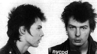Sid Vicious. Detenido en 1978 por el asesinato de su novia Nancy Spungen.