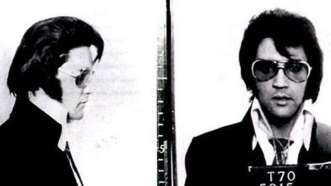 """Elvis Presley. En 1970 se presentó en las oficinas del FBI para que lo nombren """"policía honorario"""""""