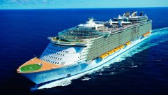 El Oasis of the Seas y el Allure of the Seas