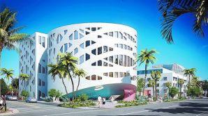 Maqueta. Así será el centro de exposiciones que se está construyendo en Miami Beach. Abrirá a fin de 2015.