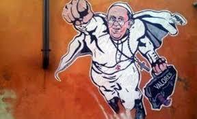 La imagen, bautizada como 'El Súper Papa', se ha vuelto viral a pocas horas de haber sido publicada  (Twitter @PCCS_VA)