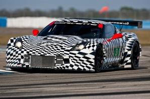2014 Corvette C7.R race car Sebring Test