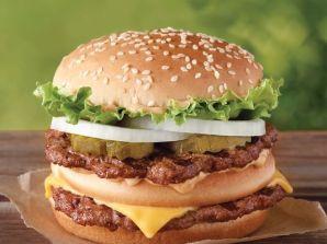 The Number Two burger chain has just made its new Big King burger bigger than the Big Mac. (Photo: Burger King Source USA Today)