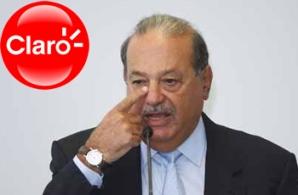 La empresa Claro, propiedad del multimillonario mexicano Carlos Slim.