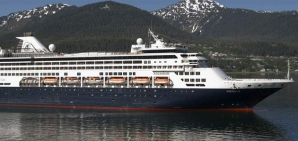 El MS Vendaam, de Holland America.