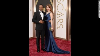 -oscars-red-carpet---chiwetel-ejiofor-and-sari-mercer-horizontal-gallery